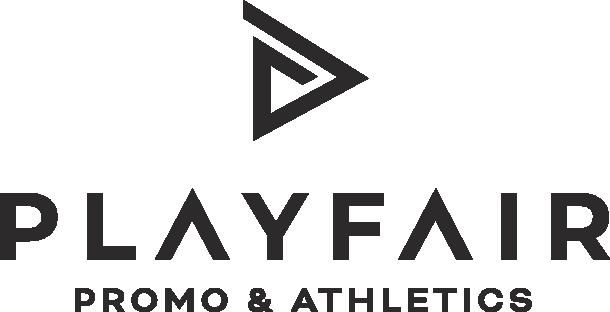 Playfair promo and athletics logo